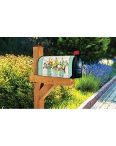 Goldfinch on Jar MailWrap