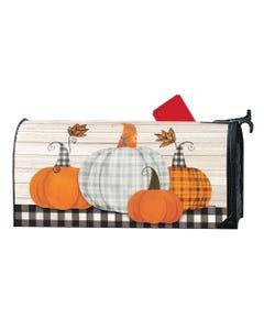 Plaid Pumpkin MailWrap