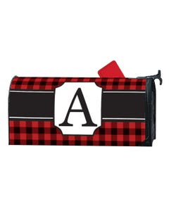 Buffalo Check Monogram A MailWrap