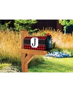 Buffalo Check Monogram J MailWrap