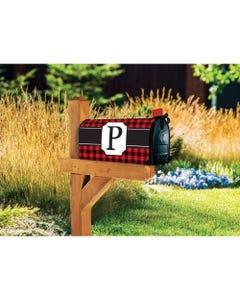 Buffalo Check Monogram P MailWrap