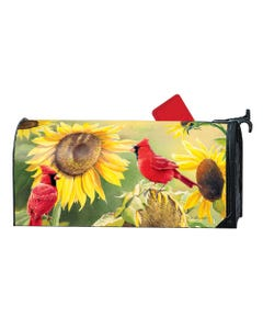 Sunflower Cardinal MailWrap
