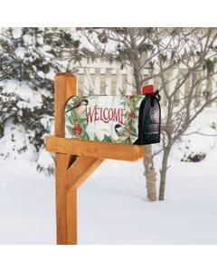 Chickadee Wreath MailWrap