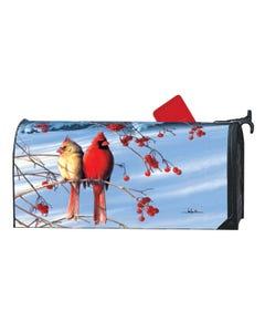Cardinals in Snow MailWrap