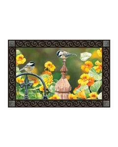 CLR Chickadee Fence Post MatMate