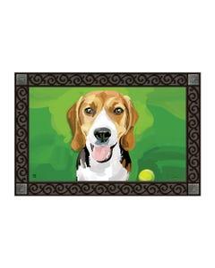Beagle with Ball MatMate
