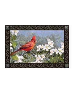 Cardinal in Blossoms MatMate