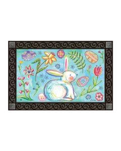 Easter Bunny Garden MatMate