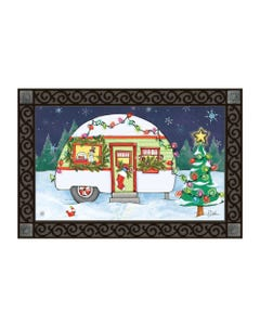 Christmas Camper MatMate