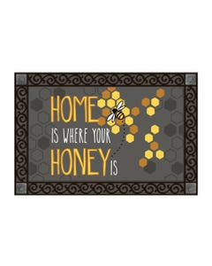 Home is Where Your Honey Is MatMate