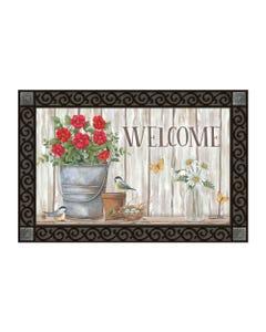 Bucket of Blooms MatMate