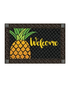 Cropped Pineapple Welcome MatMate