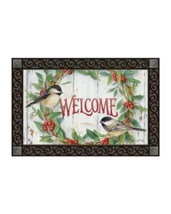 Chickadee Wreath MatMate
