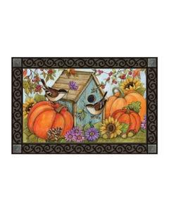 Autumn Birdhouse MatMate