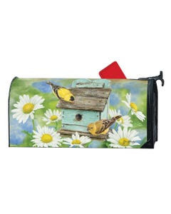 Finches and Flowers OS MailWrap