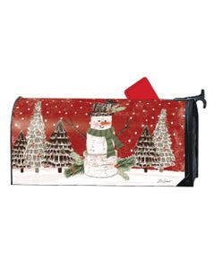 Woodsy Snowman OS MailWrap