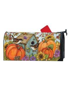 Autumn Birdhouse OS MailWrap