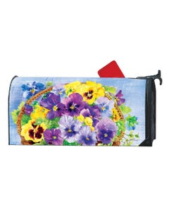 Pansy Blooms OS MailWrap