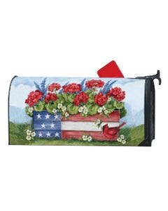 Patriotic Planter Box OS MailWrap