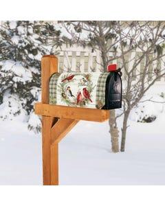 Winter Bird Wreath OS MailWrap