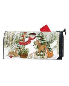 Woodland Snowman OS MailWrap