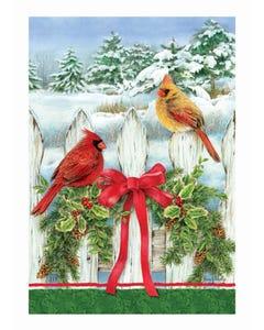 Winter Splendor Garden Flag
