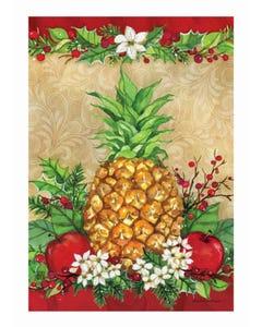 Holiday Pineapple Garden Flag