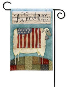 CLR Freedom Sheep Garden Flag