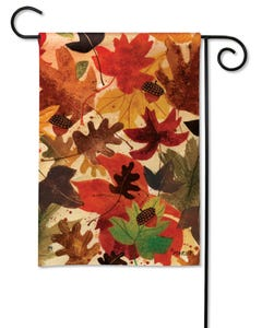 CLR Fallen Leaves Garden Flag