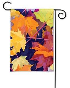 CLR Maple Leaves Garden Flag