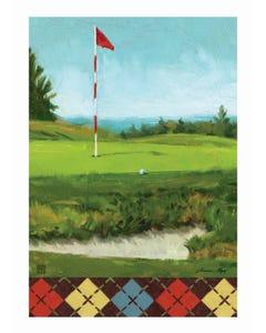 CLR On the Green Garden Flag