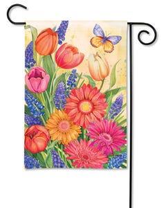 CLR Spring Burst Garden Flag