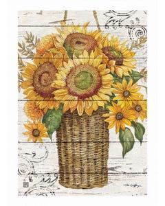 Farmhouse Sunflower Garden Flag