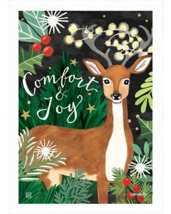 Comfort and Joy Garden Flag