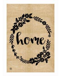 Rustic Home Garden Flag
