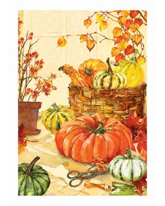 Heirloom Pumpkin Garden Flag
