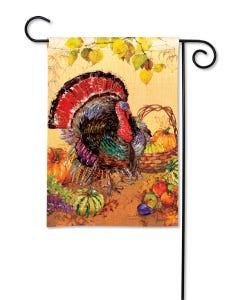 Wild Turkey Garden Flag