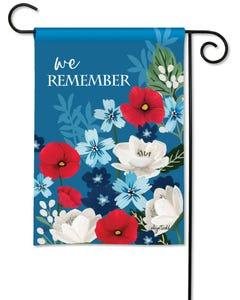 We Remember Garden Flag