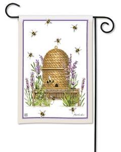 Beehive Garden Flag