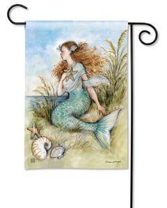Mermaid Song Garden Flag