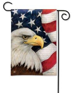 American Eagle Garden Flag