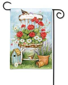 Summer Garden Garden Flag