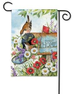Sweet Home Garden Flag