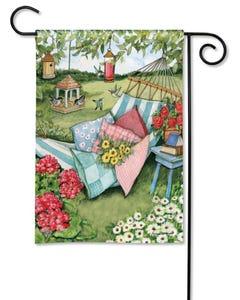 Garden Hammock Garden Flag