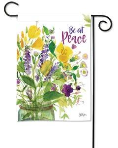 Peace Bouquet Garden Flag