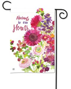 Heartfelt Bouquet Garden Flag