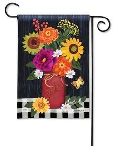 Autumn Blooms Garden Flag