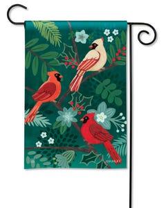 Boho Cardinals Garden Flag