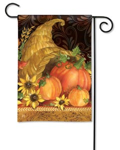 Autumn Bounty Garden Flag