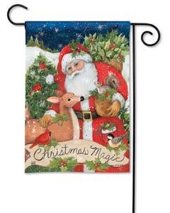 Christmas Magic Garden Flag